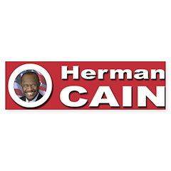 Herman Cain Sticker (Bumper 10 pk)