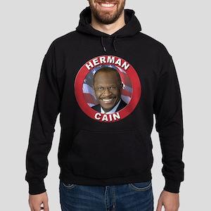 Herman Cain Hoodie (dark)