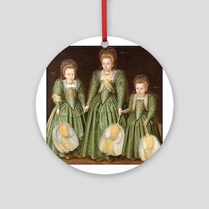 Egerton Sisters Round Ornament