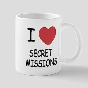 I heart secret missions Mug