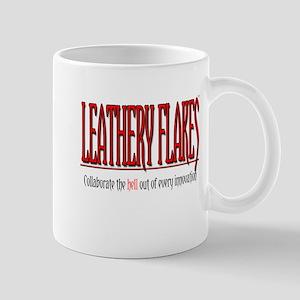 Leathery Flakes Collaboration Mug