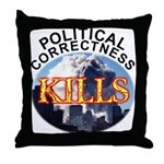 PC Kills Throw Pillow