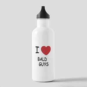 I heart bald guys Stainless Water Bottle 1.0L