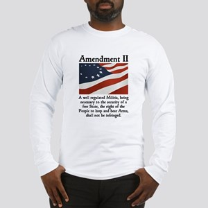 2nd Amendment Long Sleeve T-Shirt
