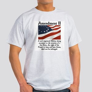 2nd Amendment Light T-Shirt