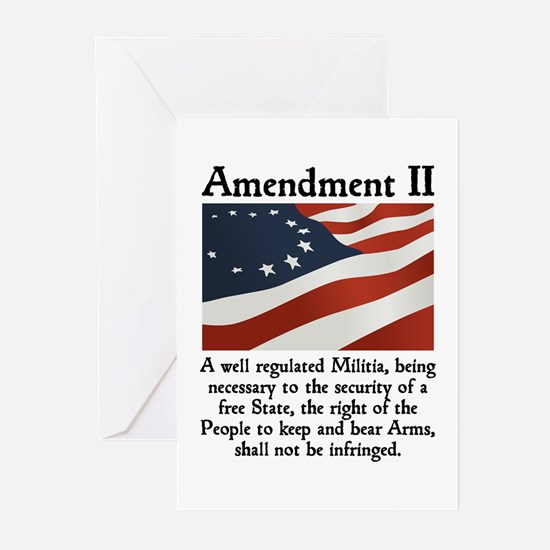 2nd Amendment Greeting Cards (Pk of 10)