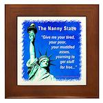 Nanny State Framed Tile