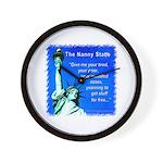 Nanny State Wall Clock