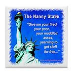 Nanny State Tile Coaster