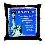 Nanny State Throw Pillow