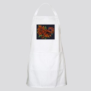 Flowers For Vincent (black) Apron