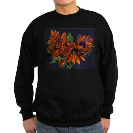 Flowers For Vincent (black) Sweatshirt (dark)