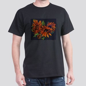 Flowers For Vincent (black) Dark T-Shirt