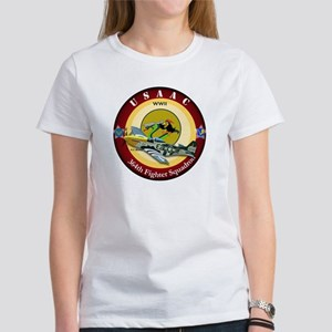 364th Fighter Squadron - P51 Mustang Women's T-Shi
