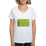 iBuild iLaunch Women's V-Neck T-Shirt