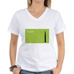 iLaunch Rockets! Women's V-Neck T-Shirt