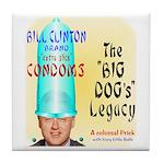 Clinton Legacy Tile Coaster