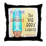 Clinton Legacy Throw Pillow