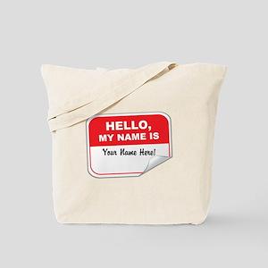 Hello Again! Tote Bag