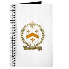 BOURGOIN Family Crest Journal