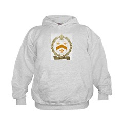 BOURGOIN Family Crest Hoodie