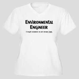 Environmental Engineer Gamer Women's Plus Size V-N