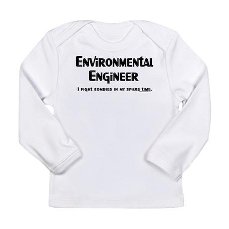 Environmental Engineer Gamer Long Sleeve Infant T-