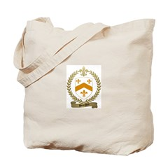 BOURGOIN Family Crest Tote Bag