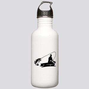 Fishing Stainless Water Bottle 1.0L