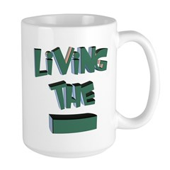 Living The Dash 15 Oz Ceramic Large Mugs
