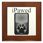 iPawed Framed Tile