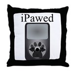 iPawed Throw Pillow