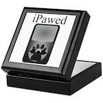 iPawed Keepsake Box