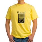 iPawed Yellow T-Shirt