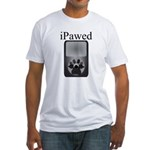 iPawed Fitted T-Shirt
