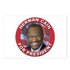 Herman Cain for President Postcards (Package of 8)