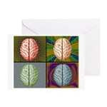 panels Greeting Cards