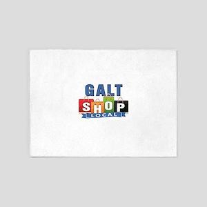 Galt Shop Local 5'x7'Area Rug