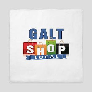 Galt Shop Local Queen Duvet
