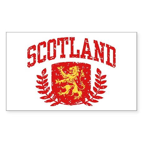 Scotland Sticker (Rectangle)