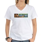 GOT Tea Party Women's V-Neck T-Shirt