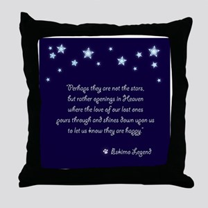 Pet Sympathy Throw Pillow