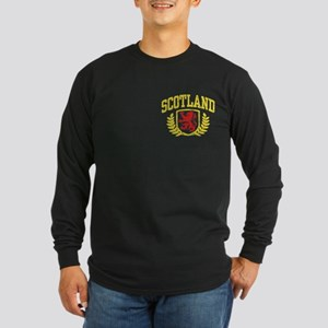 Scotland Long Sleeve Dark T-Shirt