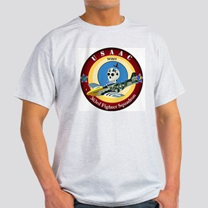 363rd Fighter Squadron - P51 Mustang Light T-Shirt