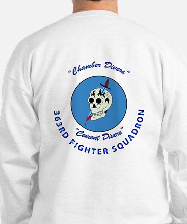 363rd Fighter Squadron - P51 Mustang Sweatshirt