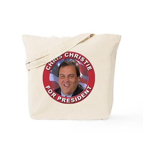Chris Christie for President Tote Bag