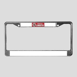 Chris Christie License Plate Frame
