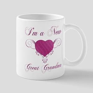 Heart For New Great Grandmas Mug