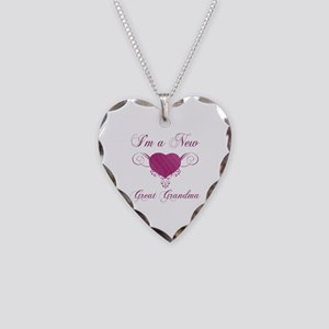 Heart For New Great Grandmas Necklace Heart Charm