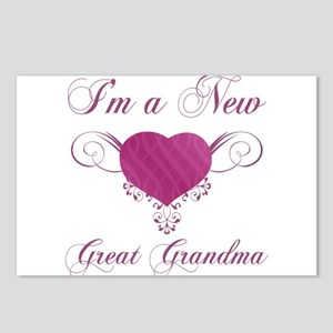Heart For New Great Grandmas Postcards (Package of